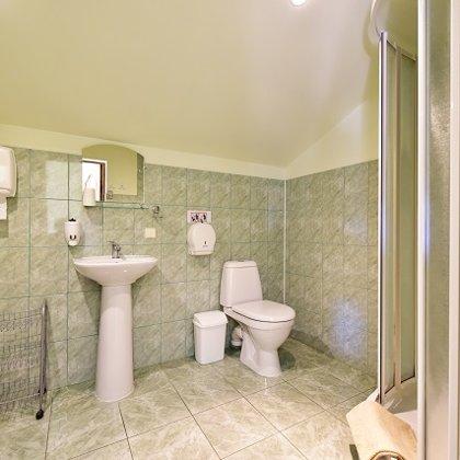 Apartamentų vonios kambarys